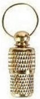 Beeztees 795811 Подвеска-адресник д/кошки золотистая 22мм