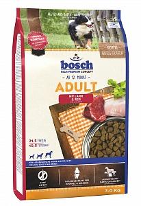 Bosch 3 кг Adult lamb rice Сухой корм для взрослых собак ягненок рис