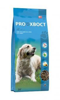 PROХВОСТ 20 кг Корм сухой для взрослых собак всех пород