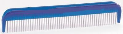 Beeztees.Расческа 13см с вращающимися зубчиками средняя голубая