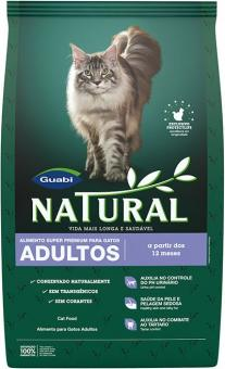 Guabi Natural 1,5 кг Adult Cat сухой корм для взрослых кошек