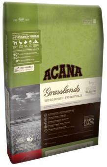 Acana 2кг Regionals Grasslands Dog 70/30 Беззерновой корм для собак всех возрастов с ягненком, рыбой и яйцом