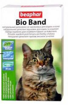 Beaphar Ошейник от насекомых для кошек и котят (Bio) 35см (10664)