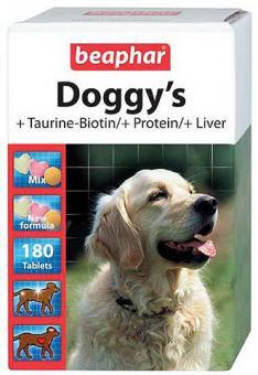 Beaphar Doggy`s MIX 180шт Витамины для собак