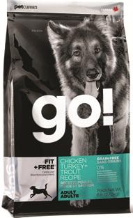 Go Natural 2,72кг 34/16 adult Fit,  All life Stages беззерновой корм для собак всех возрастов 4 вида мяса