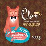 2шт Cat Clan 100г гусь/печень консервы для кошек кусочки в соусе