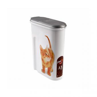 Curver pet life контейнер 1,5кг /4.5L для кошек 3903