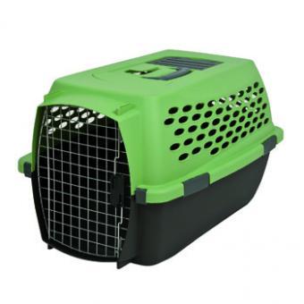 Vari kennel fashion 24 Переноска для домашних животных Кэннэл Фэшн 24 (цвет зеленая, пластик) 61x43x37см