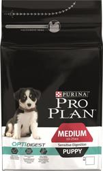 Pro Plan 3кг Puppy Сухой корм для щенков средних пород с чувствительным пищеварением  с ягненком