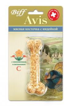 TiTBiT 35г Мясная Косточка Avis для аллергичных собак с индейкой