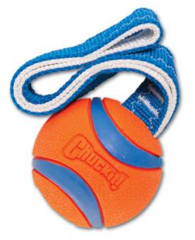 Chuckit Ultra Tug Large Игрушка для собак - Перетяжка - Теннисный мяч Ультра, резина, большая