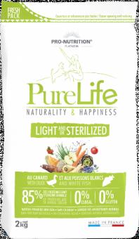 Flatazor 2 кг Pure Life Sterilized Cухой корм для стерилизованных кошек