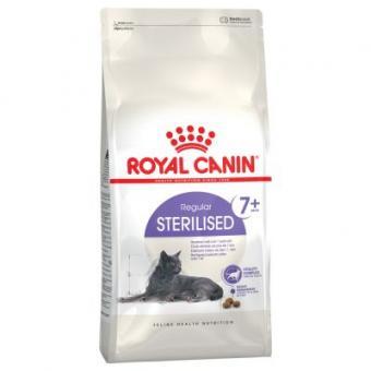 Royal canin 0,4кг Sterilised +7 Сухой корм для пожилых кошек старше 7 лет стерилизованных и кастрированных