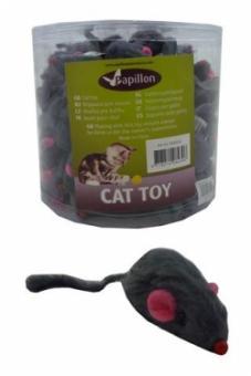 Papillon Furmouse with rattle Веселый мышонок, игрушка для кошек 5см (240034)