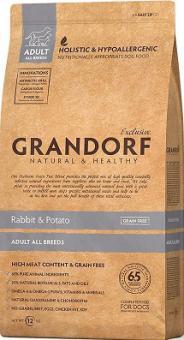 Grandorf 3 кг Rabbit&Potato Adult All Breeds Беззерновой корм для собак кролик с картофелем