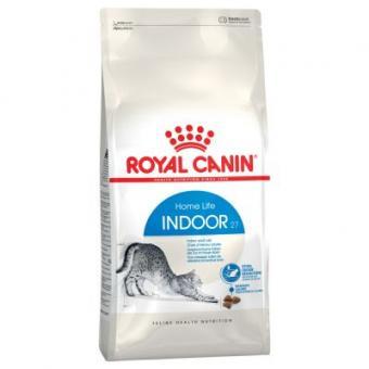 Royal canin 0,4кг Indoor Сухой корм для кошек старше 1 года живущих в помещении