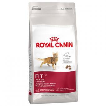 Royal Canin 4кг Fit 32 Сухой корм для кошек бывающих на улице от 1 до 7 лет