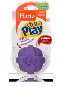 Hartz Мяч рельефный, латекс с наполнителем, маленький, Flexa Foam Small Ball Dog Toy
