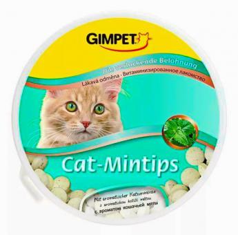 Gimpet Cat-Mintips 330шт витамины для кошек, кошачья мята