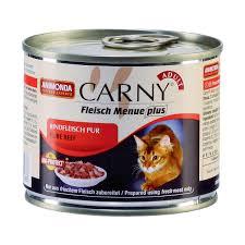 Animonda Carny Adult  200г Консервы для кошек с отборной говядиной 83555
