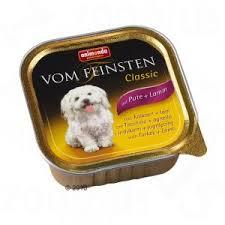 Animonda Vom Feinstein Classic 150г Консервы  для собак c индейкой и ягненком 82965/82611