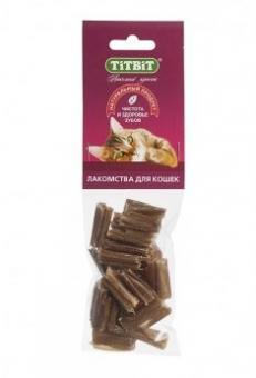 TiTBiT 35гр Кишки говяжьи мини (для кошек) - мягкая упаковка