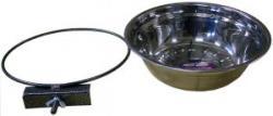 Данко Миска клеточная с зажимом, 1мет.миска диаметр 14см  350мл