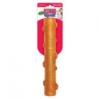Kong игрушка для собак Squezz Crackle хрустящая палочка большая 27 см