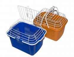 Данко Корзина-переноска 29х30х43 см для животных пластик