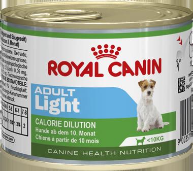 12шт Royal canin 195 г. Adult Light Mousse Мусс для взрослых собак 10 мес.-8 лет: контроль веса