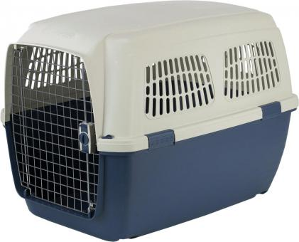 Marchioro CAYMAN7 переноска для кошек и собак  (ДхШхВ=105х75х79) бежевый/синий