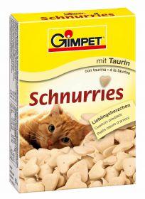 Gimpet Schnurries 50г Сердечки Курица+таурин, для кошек