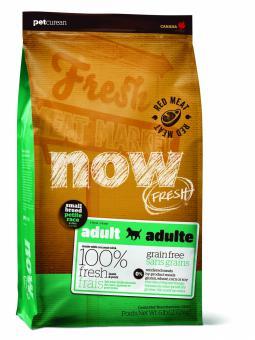 Now Fresh 11,35 кг Dog Grain Free Adult Small Breed Grain Free Lamb & Porc Беззерновой сухой корм для собак мини пород с ягненком и свининой