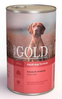 Nero Gold 1,25 кг Adult Dog Formula Fresh Lamb консервы для взрослых собак Свежий Ягненок