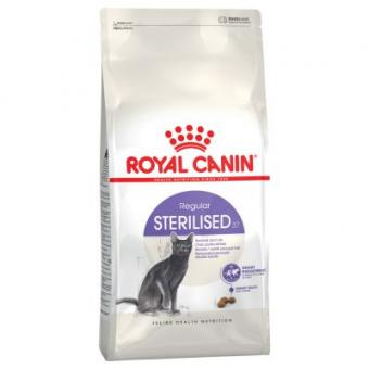 Royal Canin 4кг Sterilised Сухой корм для кастрированных котов и стерилизованных кошек
