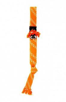 Rogz Игрушка веревочная шуршащая SCRUBZ , большая, оранжевый
