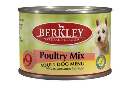 Berkley 200г Рагу из Домашней Птицы для Собак