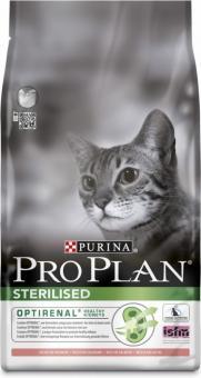 Pro Plan 0,4кг  Sterilized salmon Сухой корм для кастрированных котов и стерилизованных кошек