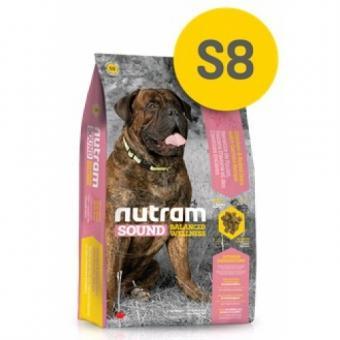 Nutram 20кг S8 Sound Large Breed Adult Dog сухой корм для взрослых собак крупных пород.