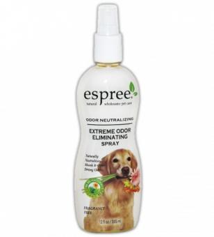 Espree  355мл спрей Средство (концентрат) для нейтрализации стойких неприятных запахов с шерсти для собак и кошек