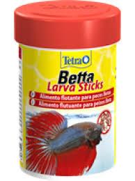 Tetra Betta LarvaSticks корм в форме мотыля для петушков и других лабиринтовых рыб 5 г (sachet)