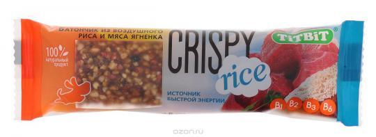 Батончики Crispy Rice из воздушного риса и мяса ягненка 5859