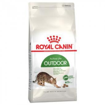 Royal canin 0,4кг Outdoor  Сухой корм для активных кошек от 1 до 10 лет часто бывающих на улице