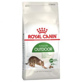 Royal canin 10кг Outdoor Сухой корм для активных кошек от 1 до 10 лет часто бывающих на улице