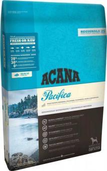 Acana 11,4кг Regionals Pacifica for Dog 70/30 Сухой гипоаллергенный  корм для собак всех пород и возрастов на основе 5 видов рыб