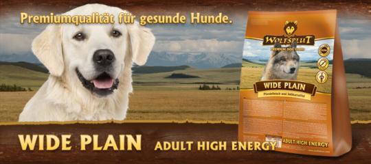 Wolfsblut 2кг Wide plain Senior Широкая равнина Сухой корм для аллергичных собак, конина