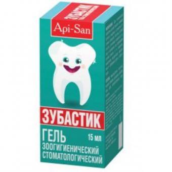 Зубастик 15мл гель зоогигиенический стоматологический