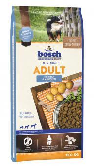 Bosch 15кг Adult Salmon & Potato корм для взрослых собак лосось с картофелем