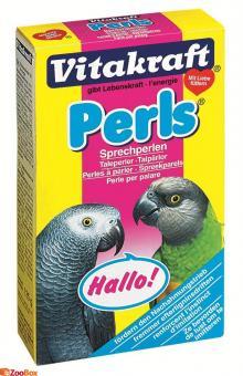 Vitakraft itakraft Perls 20г Подкормка для волнистых попугаев линька