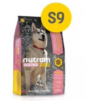 Nutram 11,4кг S9 Adult Lamb Sound Сухой корм для взрослых собак с ягненком